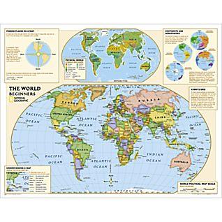 View Beginners World Education Map (Grades K-3) image
