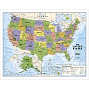 Political U.S. Education Map (Grades 4-12)