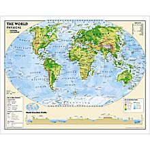 Physical World Education Map (Grades 6-12)