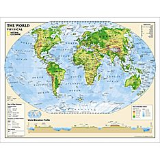 Physical World Education Map (Grades 6-12), 2010