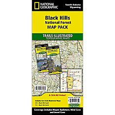 Black Hills National Forest Trail Maps (Map Pack Bundle)