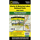 Glacier / Waterton Lakes National Park Map Pack