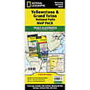 Yellowstone and Grand Teton National Parks Trail Maps (Map Pack Bundle)