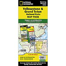 Yellowstone / Grand Teton National Park Map Pack, 2010