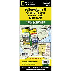 Yellowstone / Grand Teton National Park Map Pack