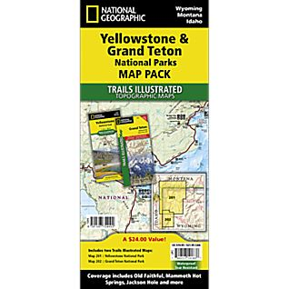 View Yellowstone / Grand Teton National Park Map Pack image