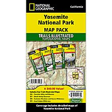 Yosemite National Park Map Pack