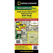 Great Smoky Mountains National Park Map Pack, 2010