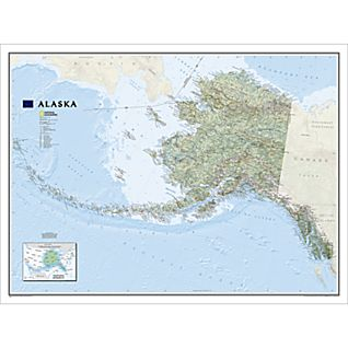 View Alaska Wall Map image