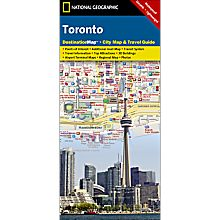 Toronto Destination City Map - Updated, 2010