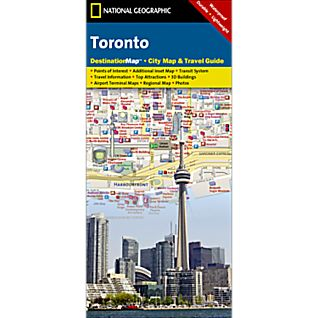 Toronto Destination City Map - Updated