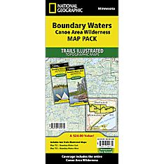 Boundary Waters Canoe Area Wilderness Trail Maps (Map Pack Bundle)