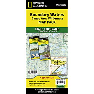 Boundary Waters Map Pack