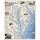 Shipwrecks of DelMarVa Map