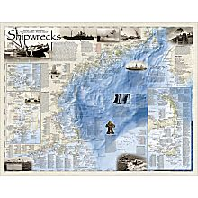 Shipwrecks Of The Northeast Map, 2011