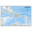 Caribbean Political Map (Classic)