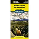 Four Corners (Trail of the Ancients) Destination Map