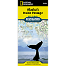 Alaska's Inside Passage Destination Map