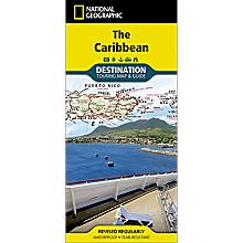 Caribbean Destination Map, 2012