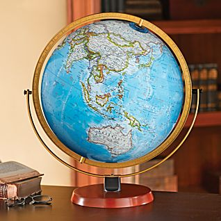 View Byrd Illuminated Desk Globe image