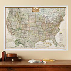 Educational Maps for Home