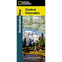 Central Cascades Destination Map, 2012