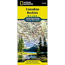 Canadian Rockies Destination Map, 2012