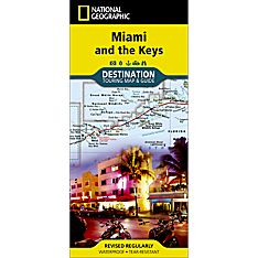 Miami and the Keys Destination Map, 2013