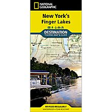 New York's Finger Lakes Destination Map