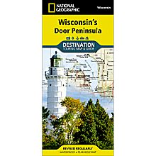 Wisconsin's Door Peninsula Destination Map