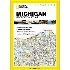 Detailed Map of Michigan