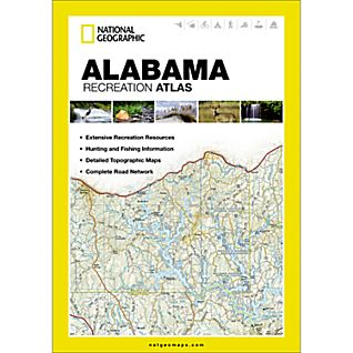 National Geographic Alabama Recreation Atlas
