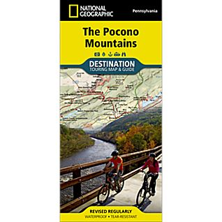 Pocono Mountains Destination Map