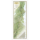 Appalachian Trail Wall Map