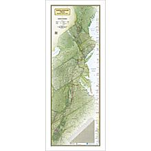 Appalachian Trail Wall Map, 2013
