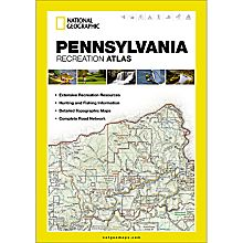 Pennsylvania Recreation Map
