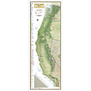 Pacific Crest Trail Reference Map