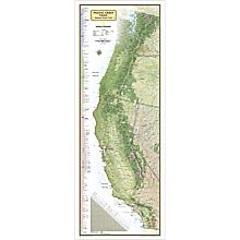 Pacific Crest Trail Reference Map, 2014