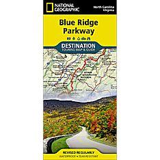 Blue Ridge Parkway Destination Map