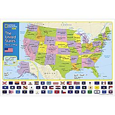 The United States for Kids Wall Map