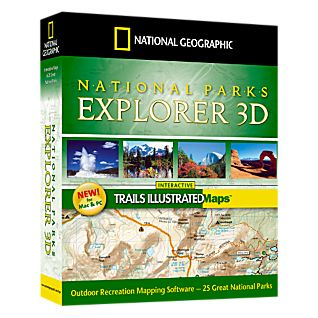 National Geographic National Parks Explorer 3-D Mapping Software