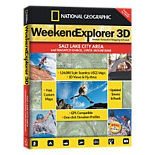 Weekend Explorer 3D - Salt Lake City & Wasatch Ranch, Uinta Mtns - 9781597750981