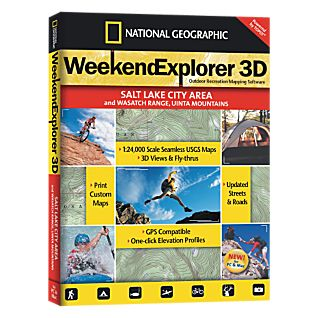 View Weekend Explorer 3D - Salt Lake City & Wasatch Ranch, Uinta Mtns image