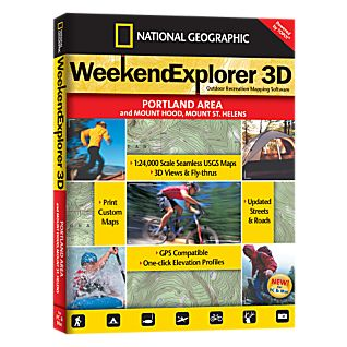 Weekend Explorer 3D - Portland Area & Mt. Hood, Mt. St. Helens