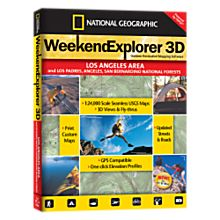 Weekend Explorer 3D - Los  Angeles  Area & Los Padres, Angeles, San Bernadino NF