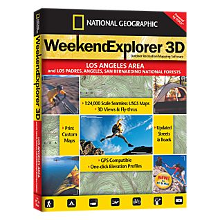 National Geographic Weekend Explorer 3D - Los Angeles Area CD-ROM
