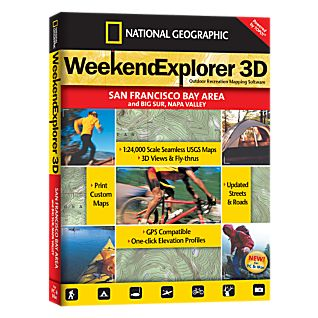 National Geographic Weekend Explorer 3D - San Francisco Bay Area CD-ROM