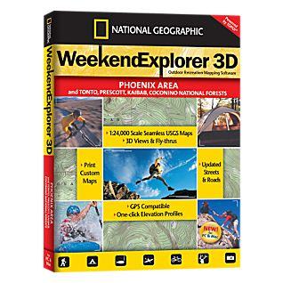 National Geographic Weekend Explorer 3D - Phoenix Area CD-ROM