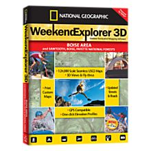 Weekend Explorer 3D - Boise Area and Sawtooth, Boise, Payette National Forest