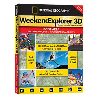 photo: National Geographic Weekend Explorer 3D - Boise Area CD-ROM